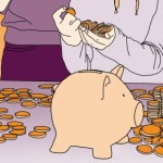 Geldwolven en spaarvarkens