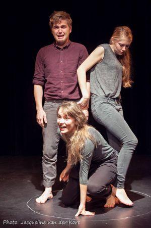 Olivier van Klaarbergen, Tessa Friedrich en Birgit Welink